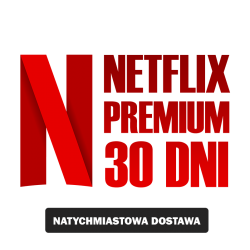 NETFLIKS* 30DNI PREMIUM UHD 4K SklepVod.PL