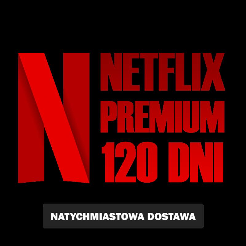 NETFLIKS* 120 PREMIUM UHD 4K SklepVod.PL