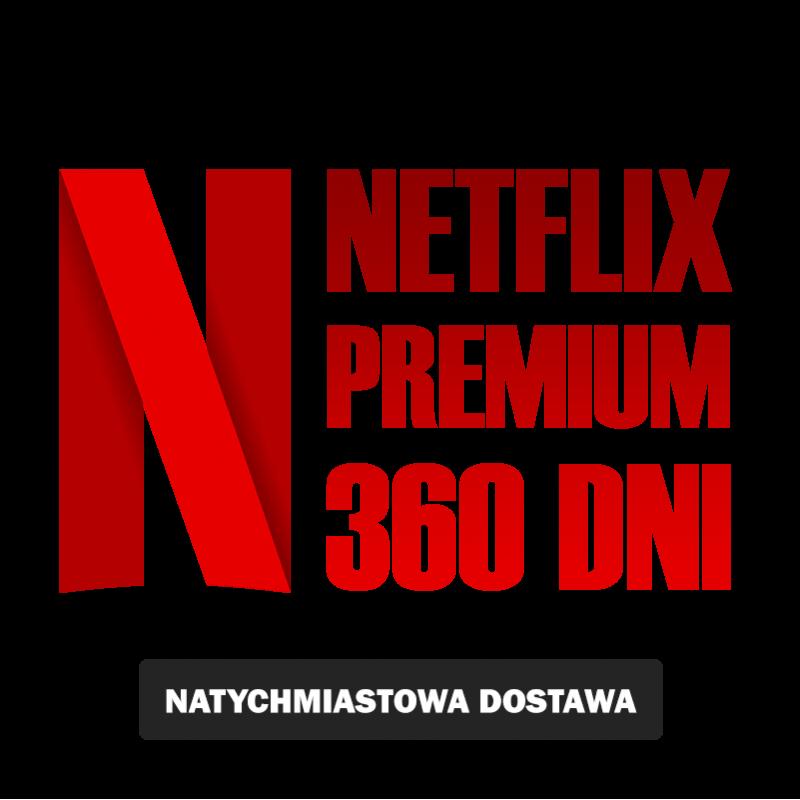NETFLIKS* 360 PREMIUM UHD 4K SklepVod.PL