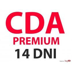 CDA Premium 14 DNI Konto na...